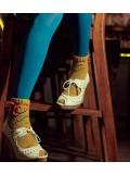 Twirl Socks Crochet Pattern.