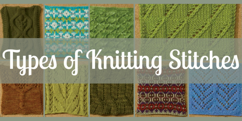 Learn a New Stitch Pattern with this FREE Knitting Stitches Guide