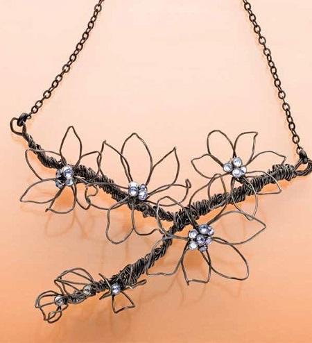 Janice Peck's Vining Necklace Project