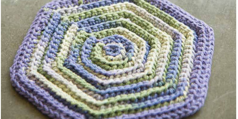 Free Bonus Project - Crochet Vintage Hot Pad