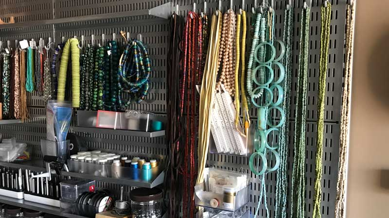 5 Tips for Organizing Jewelry-Making Supplies, Tools, and Beads
