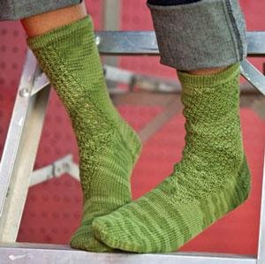 Wasabi Peas Socks