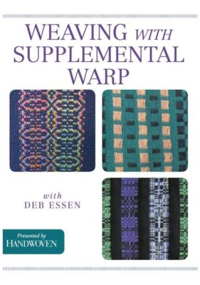 weaving with Supplemental warp_deb essen