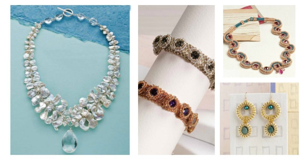 elegant beaded jewelry for weddings and other special occasions