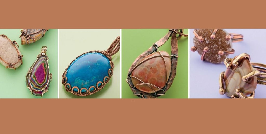 Make Wire-Wrapped Bezels for Stones: 6 Ways to Perk Up Your Wire Jewelry Making