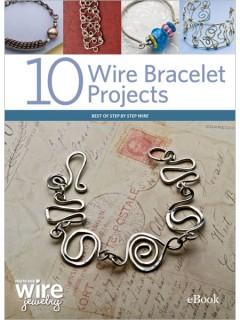 how to make wire bracelets