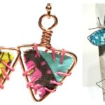 Free Mixed-Media Project: Make Fabric and Wire Jewelry