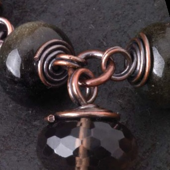 wire wrapping: how to make a double-wrapped loop, from Exploring Metal Jewelry by Tracy Stanley