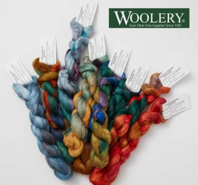 Woolery Bombyx/Merino Top from Chasing Rainbows Dyeworks