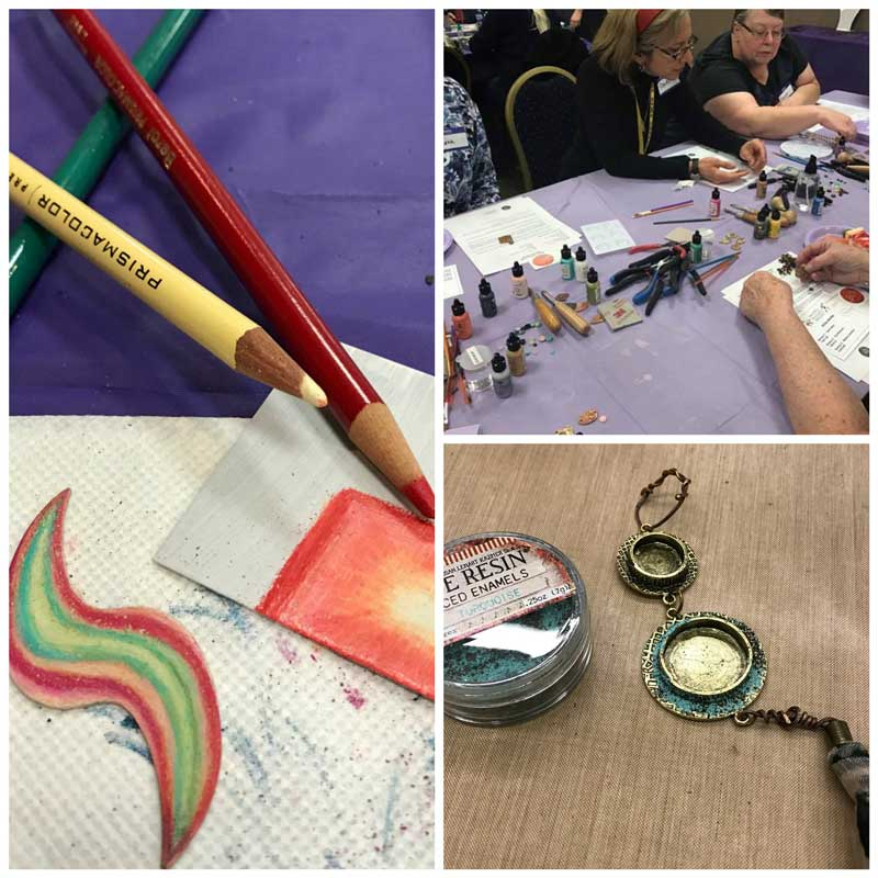 Jewelry Making, Jewelry Making Tools and Supplies, Gemstones Galore - Must be Tucson Time. Workshop samples and fun!