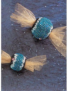 Woven and Peyote Stitch Beaded Beads project.