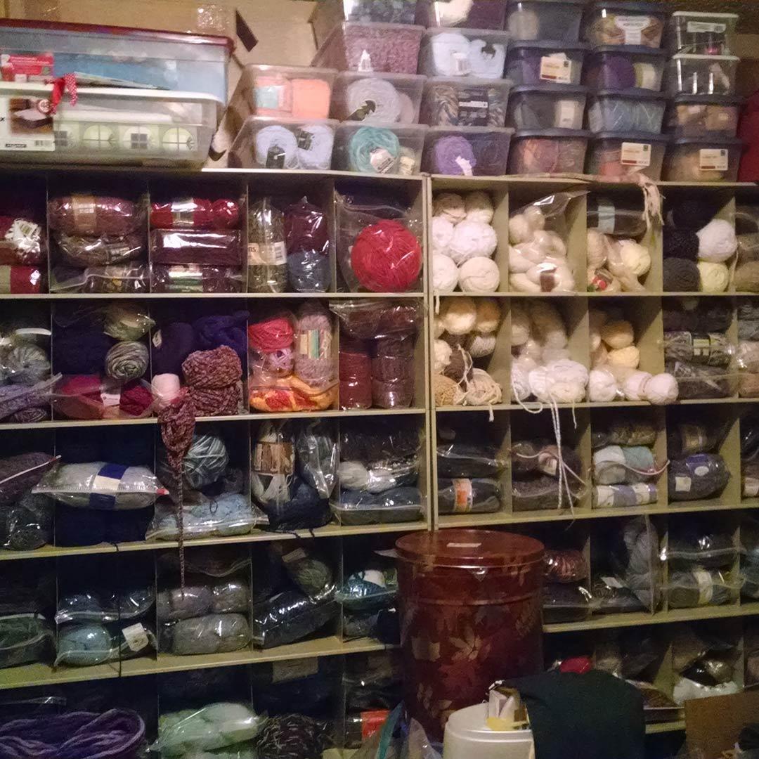 yarn stash reduce crochet goals