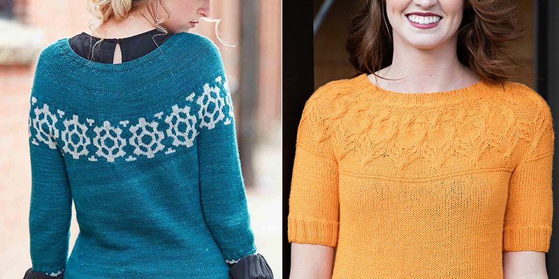 5 Cool Circular Yoke Sweaters for Cozy Fall Style