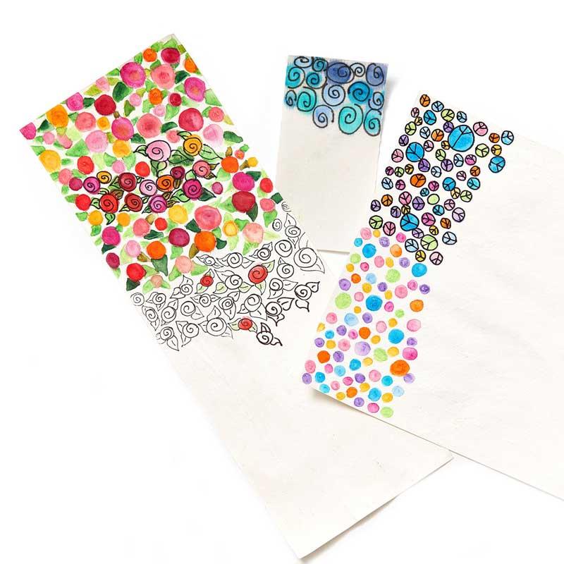 Fabulous Zendoodle fabric by Kristal Wick